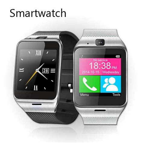 nfc android bluetooth smartwatch aplus gv18 wrist montre connecter