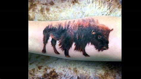 Bison Tattoos  Wwwimgkidcom  The Image Kid Has It