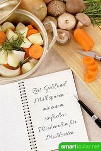 Günstig Kochen Wochenplan : wochenplan f r mahlzeiten und einkauf spart zeit geld und m ll k che und ern hrung zero ~ Eleganceandgraceweddings.com Haus und Dekorationen
