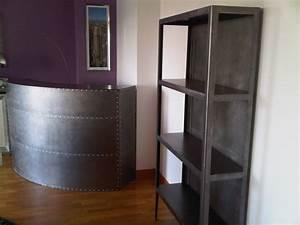 Bar D Appartement : le bar d appartement style loft en acier ~ Teatrodelosmanantiales.com Idées de Décoration