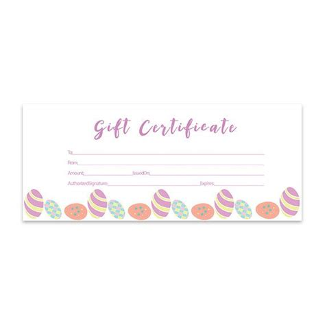 Blank Birthday Gift Certificate Template by 25 Best Ideas About Blank Gift Certificate On