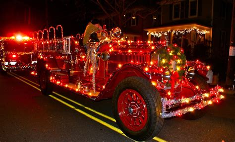 trucks decorated  christmas