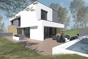 Maison Tres Moderne En Ossature Bois