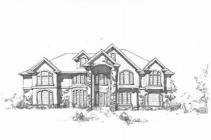 Plans Luxury Plan Elevation 1032 Sq Ft