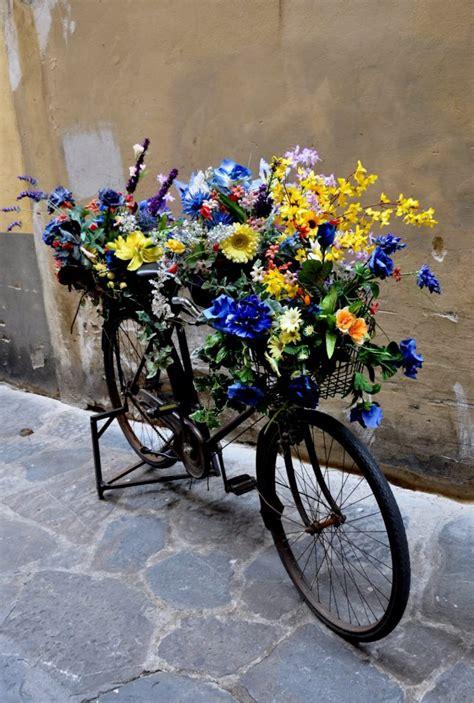 cool bike planters   inspire   repurpose