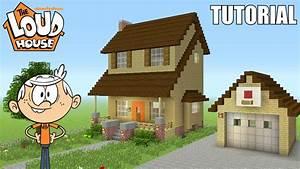 "Minecraft TutorialHow To Make ""The Loud House"" House"