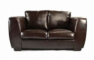 Canapé Cuir De Buffle : canap cuir marron 2 places chicago cuir de buffle miliboo ~ Melissatoandfro.com Idées de Décoration