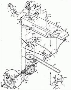 Murray 42813x92a Parts List And Diagram
