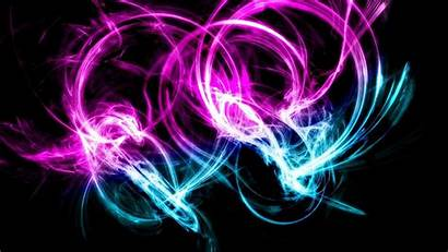 Neon Swirl Wallpapers Wallpaperaccess Backgrounds
