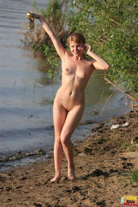 Naughty Naturists Having Nude Fun At The Lake Photos