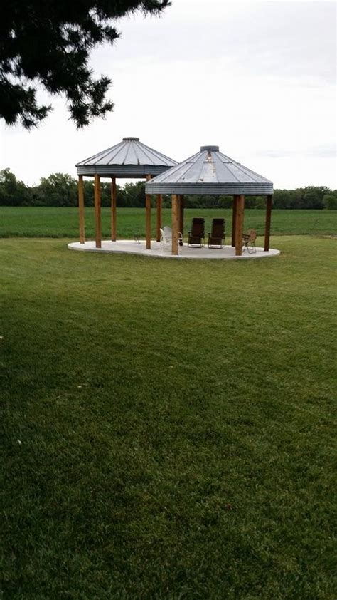 grain bin gazebo pin by carolynapopp on outdoor ideas pinterest the old the pond and grains