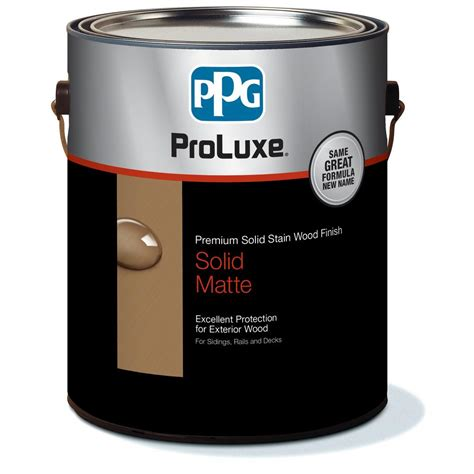 ppg proluxe  gal hdgsik  navajo red rubbol solid
