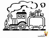 Train Blank Coloring Alphabet Stencil Toy Template Yescoloring sketch template