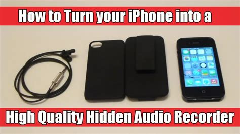 how to turn iphone sound how to turn your iphone into a high quality audio