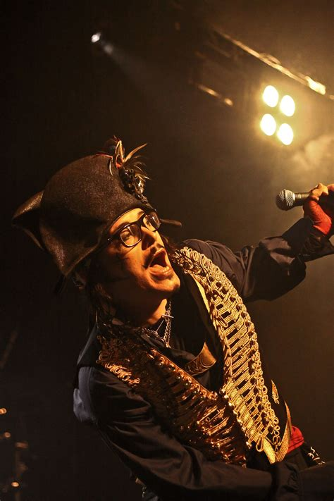 adam ant rock city nottingham  lyric