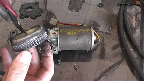 fix  ford power window motor   youtube
