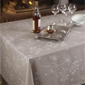 Nappe Ovale Enduite : nappe enduite astrance naturel fleur de soleil ~ Teatrodelosmanantiales.com Idées de Décoration