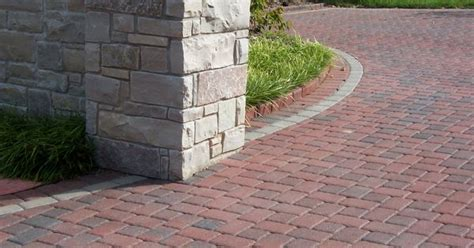 romanstone interlocking concrete pavers cobble 6x6 and
