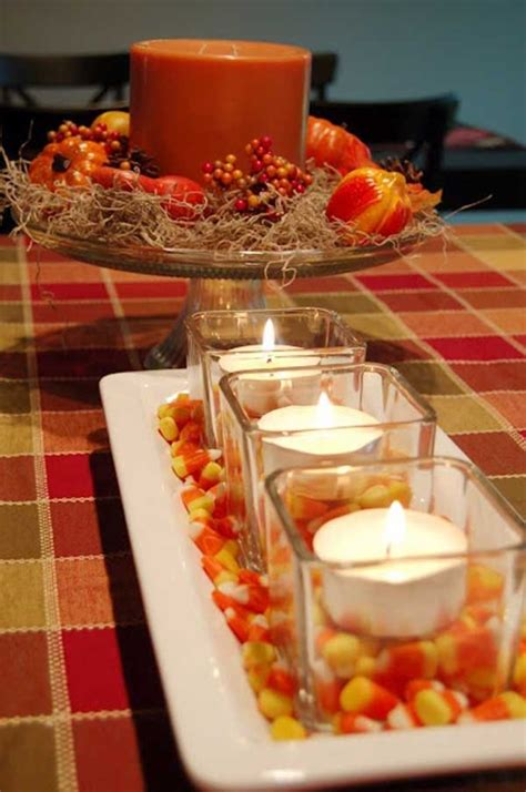 inexpensive fall decorating ideas 20 welcoming fall table decoration ideas