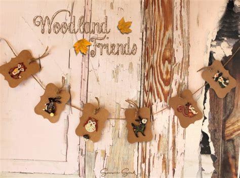 Woodland Friends Animal Banner by GoosieGirl Ready To