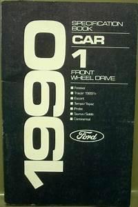 1990 Ford Dealer Electrical  U0026 Vacuum Diagram Service