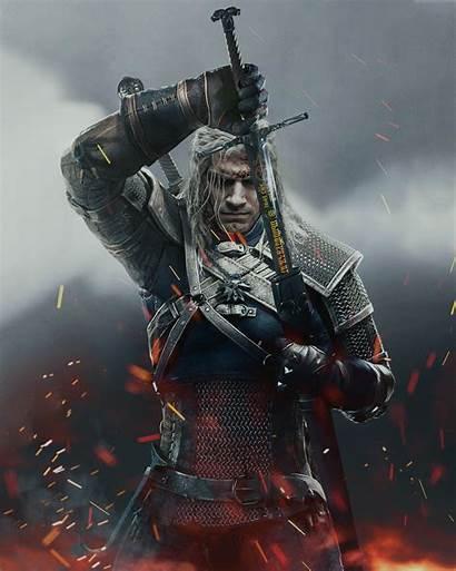 Witcher Cavill Henry Netflix Wallpapers Fan 4k