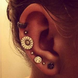 Multiple Ear Piercings. | Multiple Ear Piercings ...