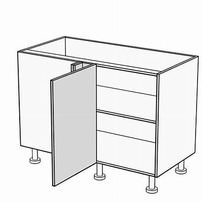 Corner Cabinet Blind Door Kitchen Cabinets