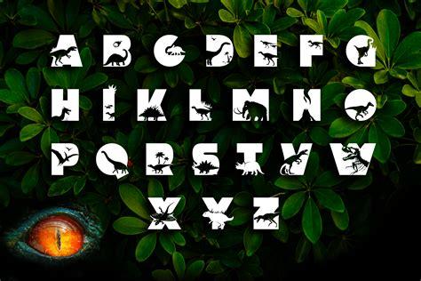 dino font cute dinosaur typeface  anastasia feya fonts svg cut files thehungryjpegcom