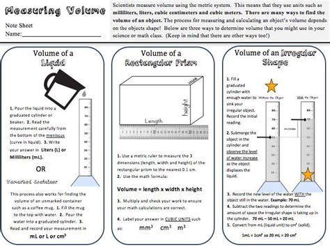 Lab Graduated Cylinder Practice Worksheet