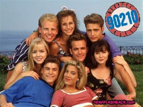 Beverly Hills 90210 (had this poster and def kissed the mouth off luke perry) # ...