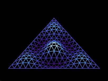 Vibration Triangle Physics Math Things Triangles Gifs