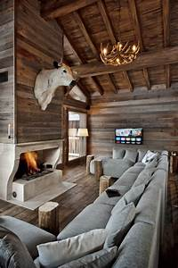 15, Warm, Rustic, Family, Room, Designs, For, The, Winter