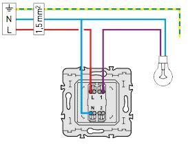 schemas electriques produits legrand mais compatibles