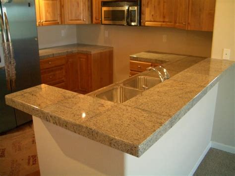 Kitchen Room  Tile Countertop Ideas Ceramic Tile