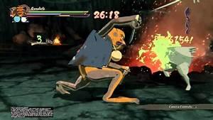 Naruto Storm 4 Gamakichi Aoda Katsuyu Vs 10 Tails