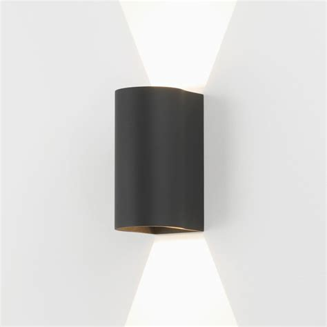 up and down wall lights astro lighting 7946 dunbar 160 led up down exterior wall