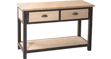 bien table style industriel pas cher 1 console destock meubles console industrielle