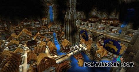 enclave city map  minecraft pe