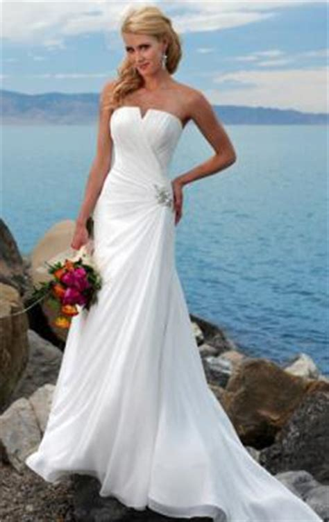 beautiful beach wedding dresses  wow style