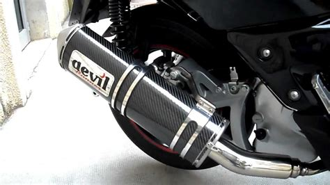 pot akrapovic xmax 125 occasion xmax 2011 abs pot runer carbone