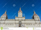 A Coruna Town Hall On Maria Pita Square In Galicia, Spain ...