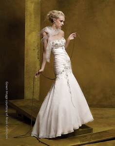 gorgeous cream silk drop waist wedding dress with beaded With drop waist wedding dress