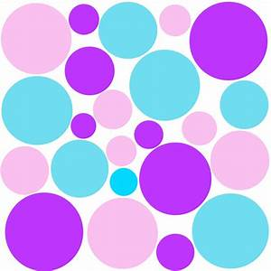Rainbow Polka Dot Wallpaper - Cliparts.co