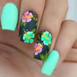 Best hawaiian nail art ideas on