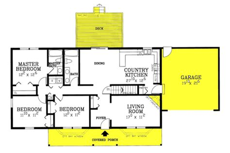 hickory ranch house plans  lumber