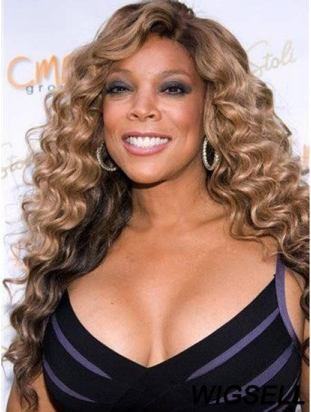 Without Bangs Curly Blonde 22 Inch Best Wendy Williams Wigs