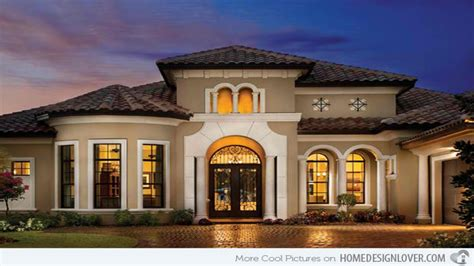 And Classy Mediterranean House Designs Home Design Lover