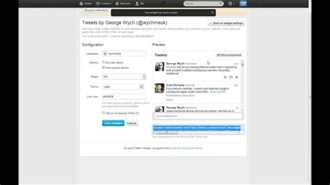 add twitter feed  api   wordpress site