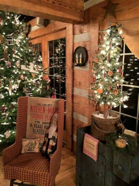 ideas  prim christmas  pinterest primitive